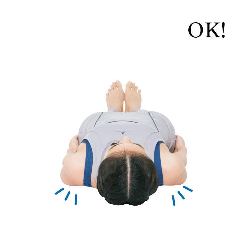 横からみると猫背に見えていない?「前肩」さんのための体幹ストレッチ【キレイになる活】_1_2-1