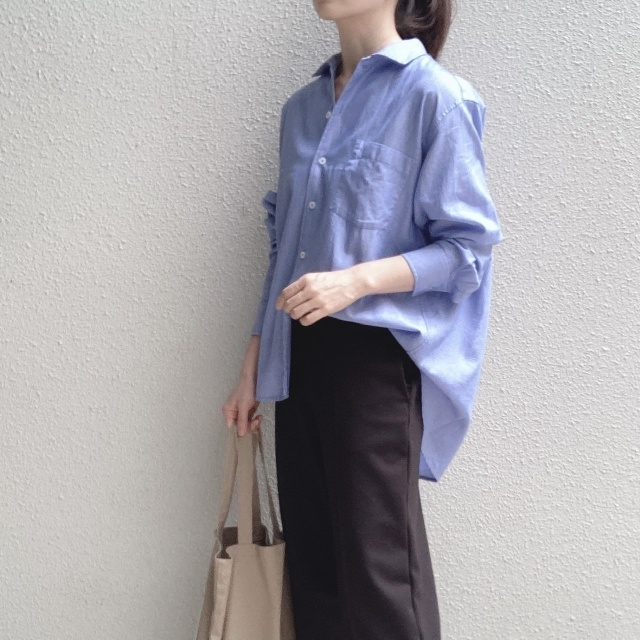 【夏に映えるブルーコーデまとめ】アラフォーが上品かつこなれて見えるコーデのポイントとは? |40代ファッション_1_21