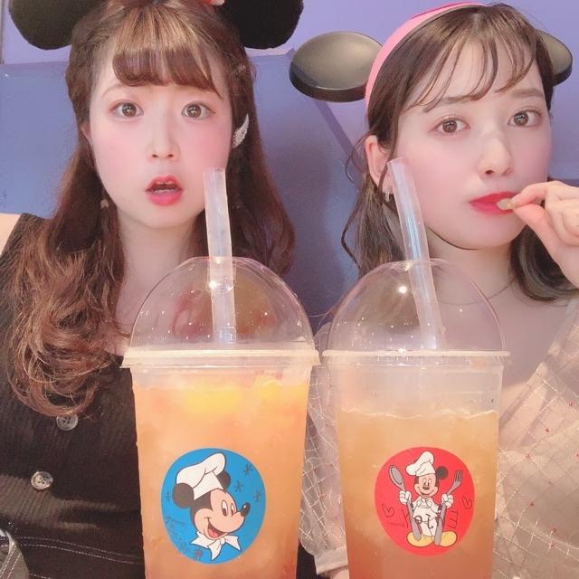 【 TokyoDisneyland 】時間限定 の タピオカ !?_1_3-4