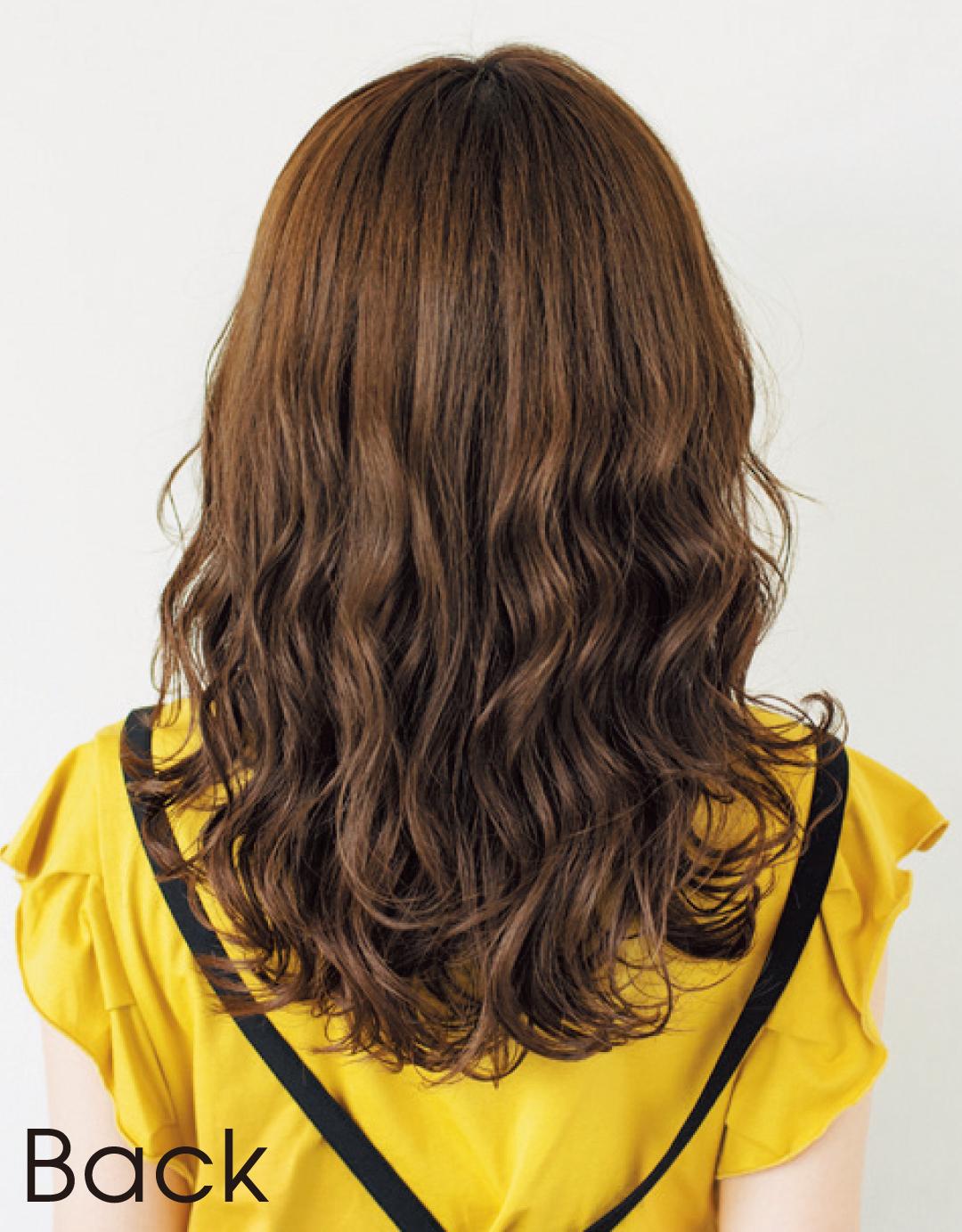 ぺたんこ髪でも、髪が多くてもOK! 石原さとみさん風ミディヘア見本帳_1_4-2