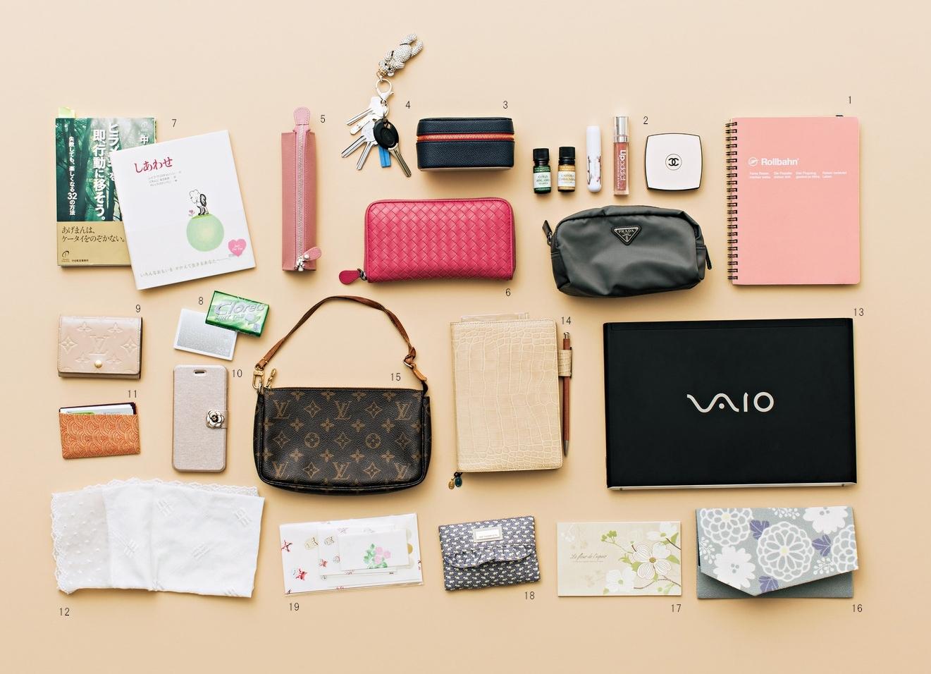 モチベーションを上げるピンクと紙と香りのグッズ【働くアラフォーのバッグの中身】_1_2