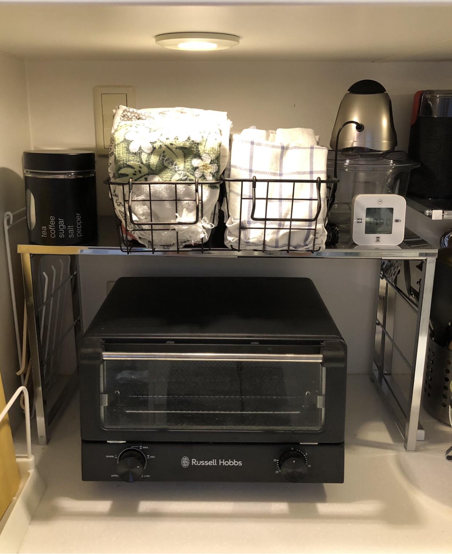 ガーメントバッグでキッチンカウンターがスッキリ♪_1_2