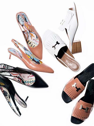 戸野塚さんがセレクトしたエルメスの春の新作靴