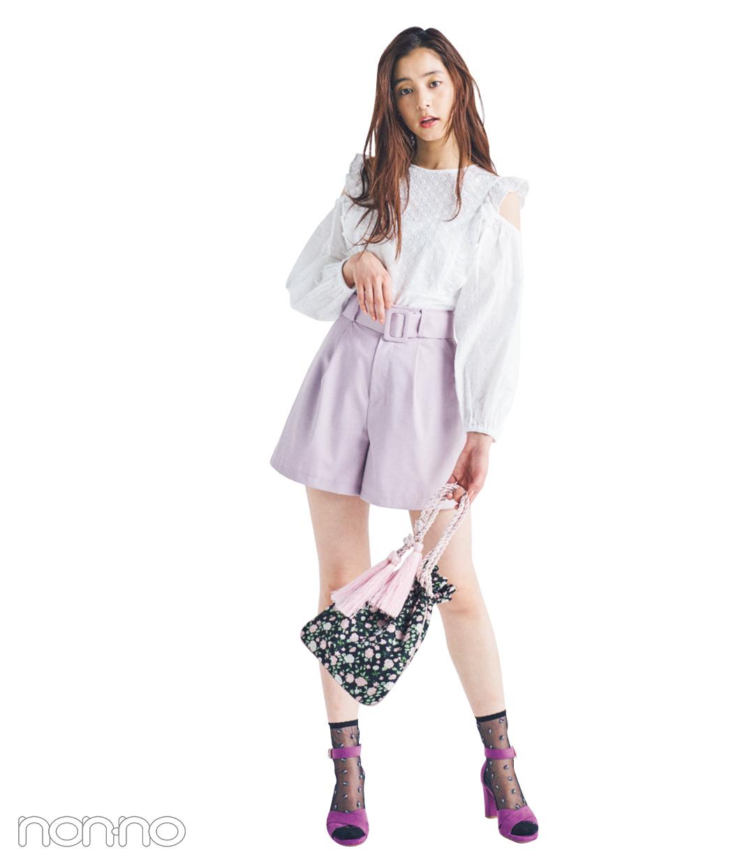 サンダル2019★ ヒールストラップ+靴下のミックスコーデで差をつける!_1_3