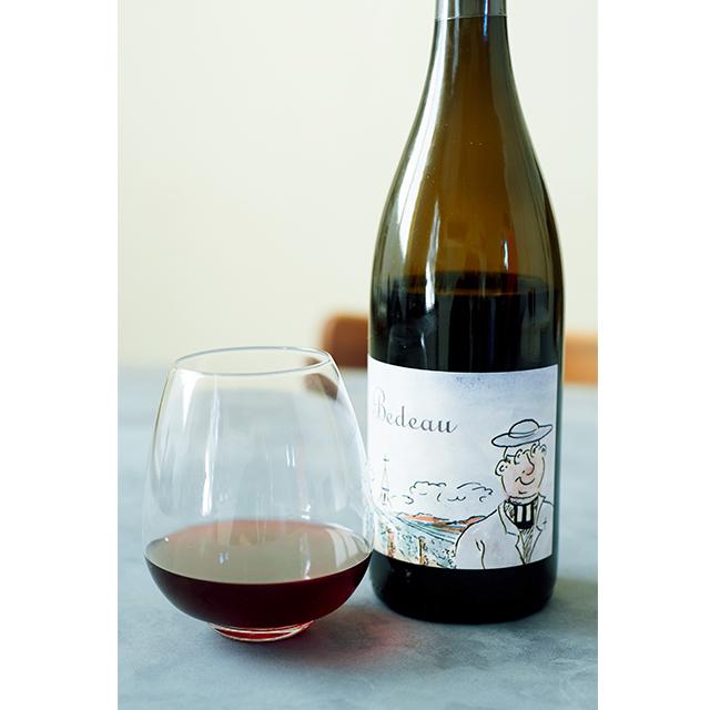 タンニンがなめらかで、酸味のある軽めのワインにあわせて