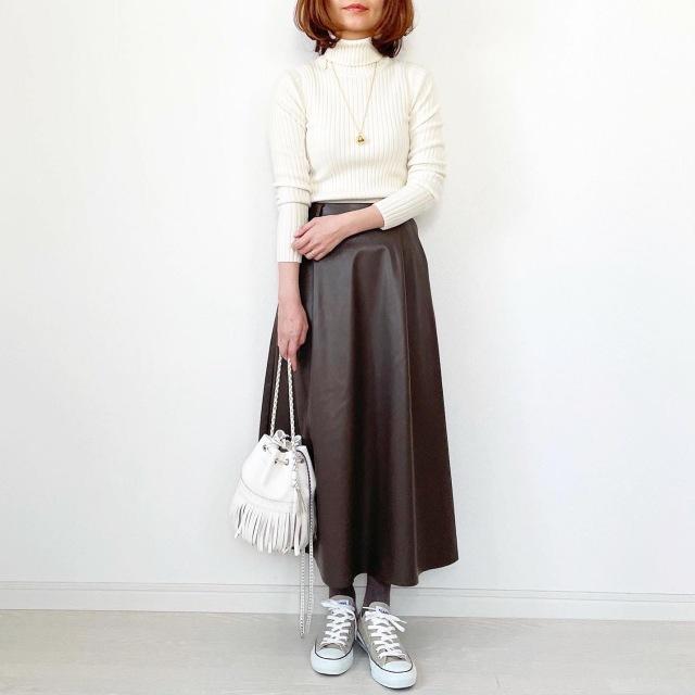 GU本当に買って良かったスカート!【tomomiyuコーデ】_1_3