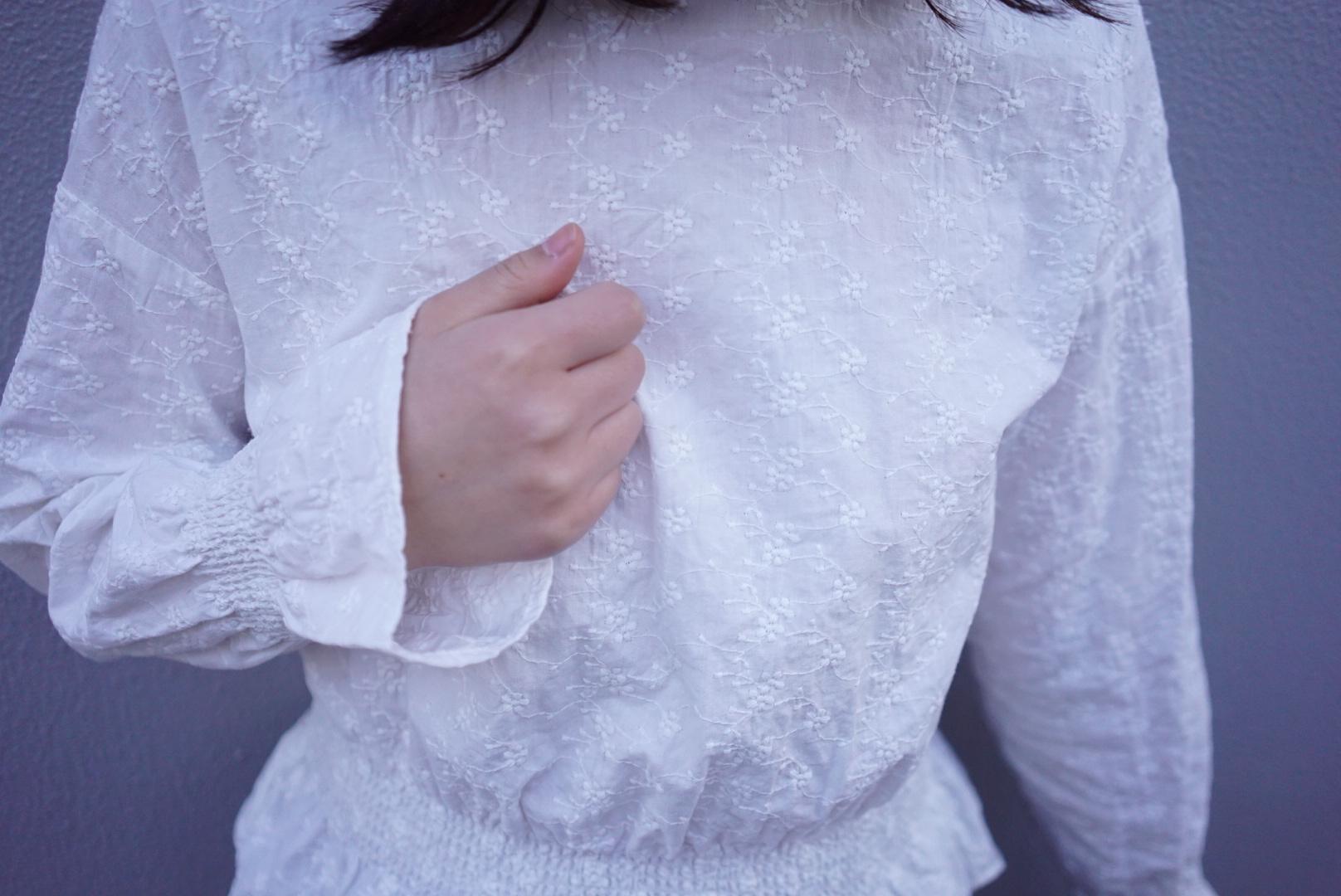 1着は持っていたい《GU》の袖フリルトップス♡_1_1