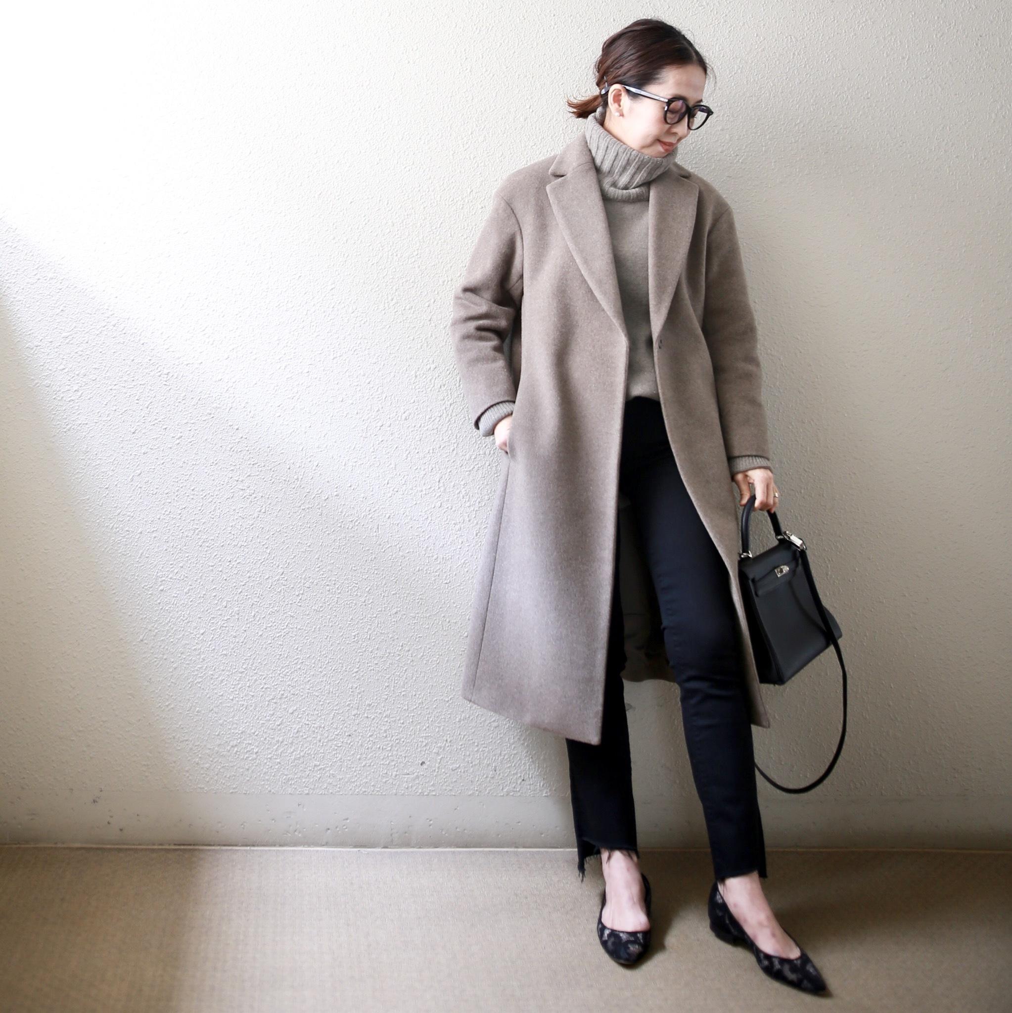 身長低めさんのコート着こなし、サイズ選びより大事なのは?【小柄バランスコーデ術#01】_1_11