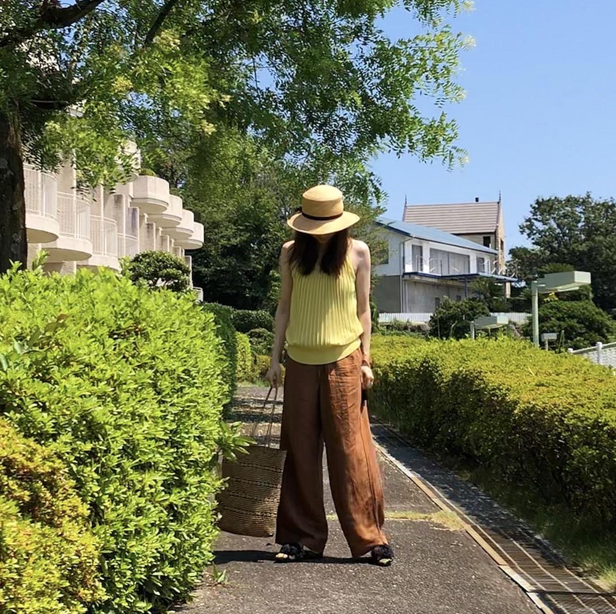 イエロー&ブラウン 〜車で伊豆へ スティケーション♩_1_7