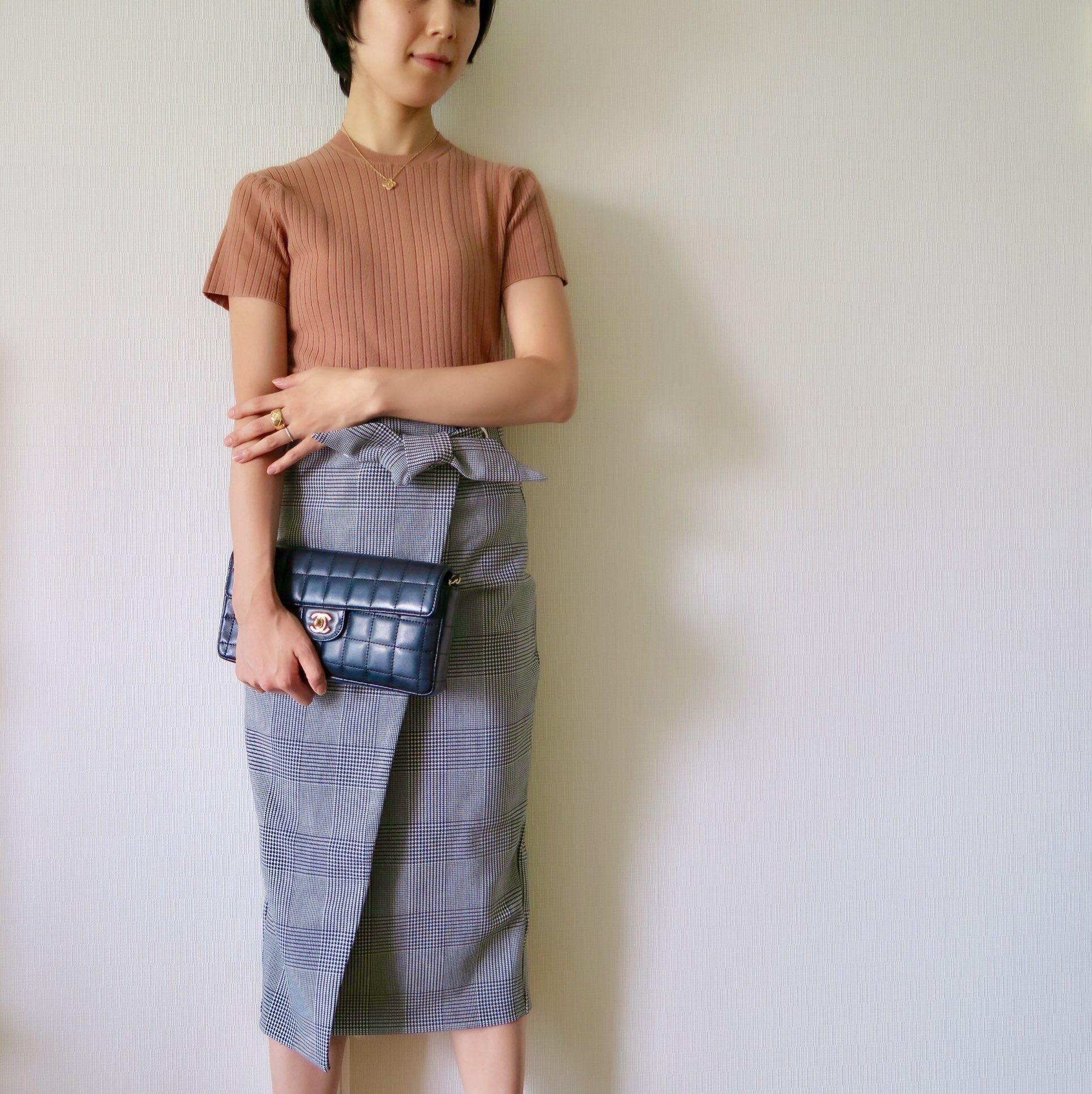 秋のトレンド「チェック柄」を美女組さんはどう着る?【マリソル美女組ブログPICK UP】_1_1-4