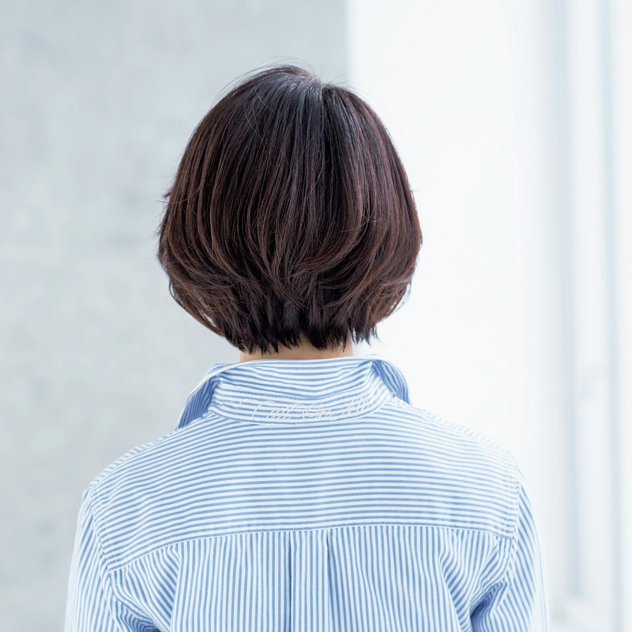 華やかに、女性らしく進化中! 大人の春ショートヘア 五選_3_1-3