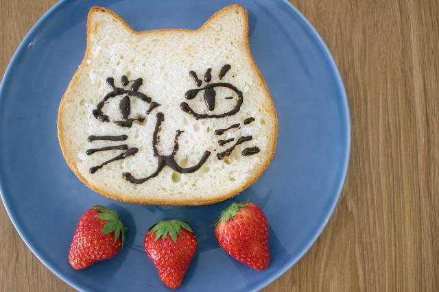 見た目も味も癒し200%『ねこねこ食パン』♡(お絵描き動画あり)_1_9