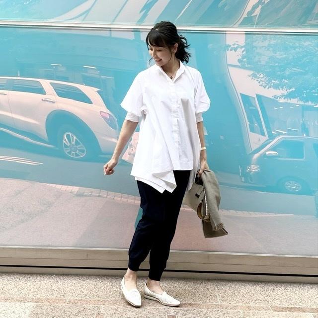1枚で映える❗️笹川友里さんのコラボシャツ_1_2