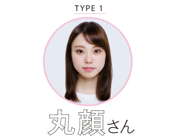 TYPE1 丸顔さん
