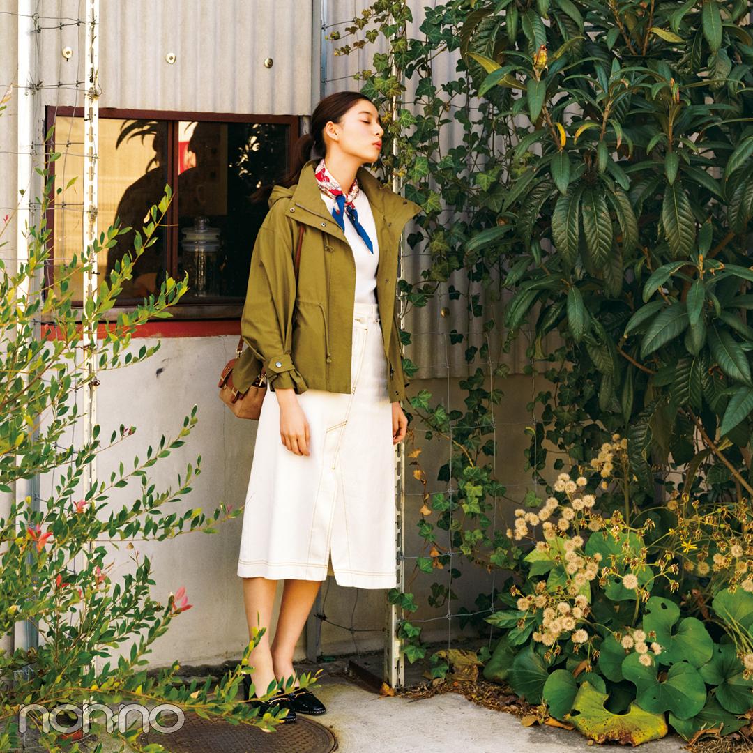 新木優子が着こなす春アウター、2019年は短め丈が狙い目!【春コーデ2019の正解】_1_2-1