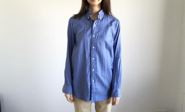春本番 こなれたシャツの着方をご紹介【40代 私のクローゼット】_1_2