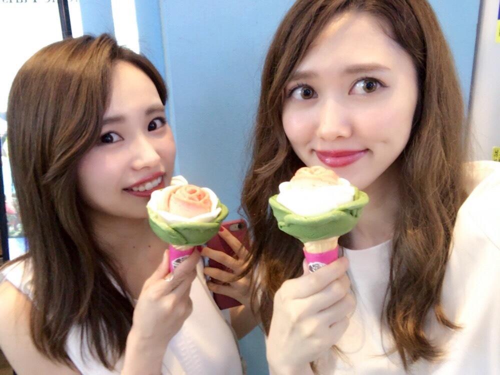 【韓国バラモチーフアイス】かわいいくておいしい!『Milky Bee』_1_5