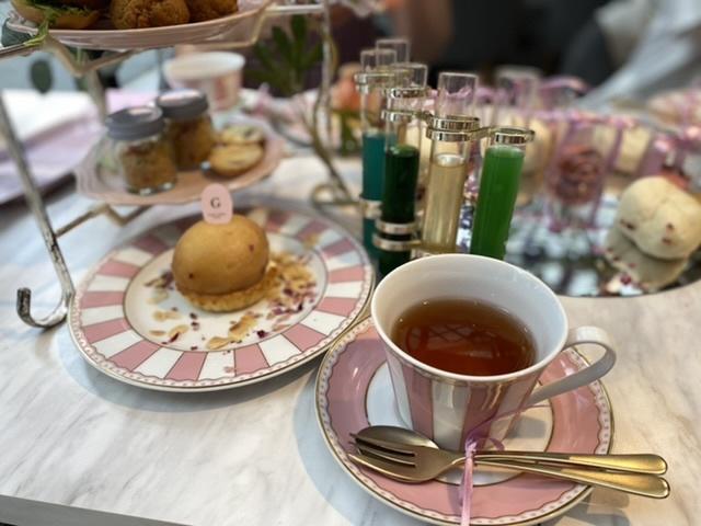紅茶もすごく美味しかったです♡ここでのオリジナルだとか…
