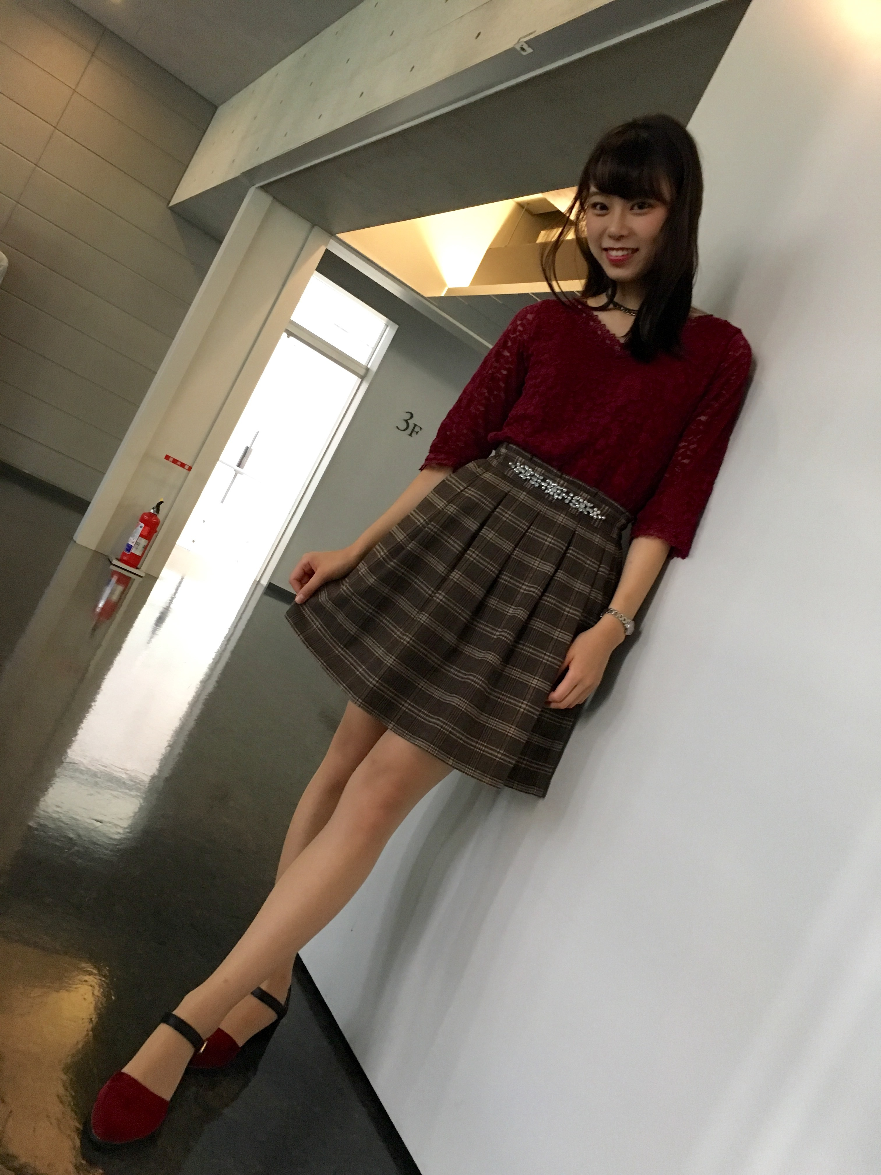 秋の通学コーデ♪( ´▽`)_1_2
