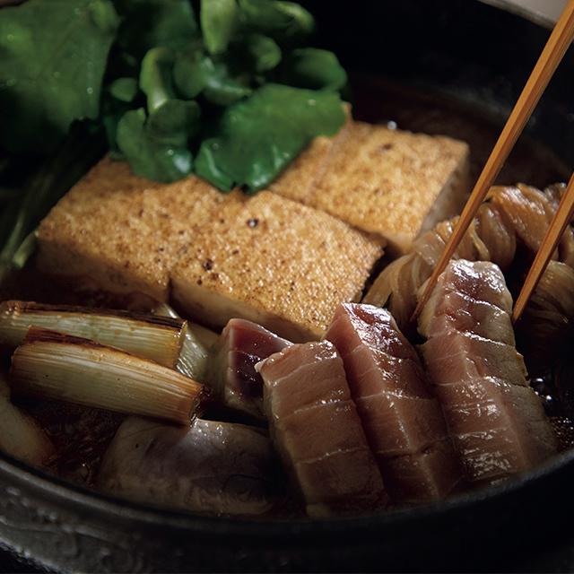 マグロすき焼き