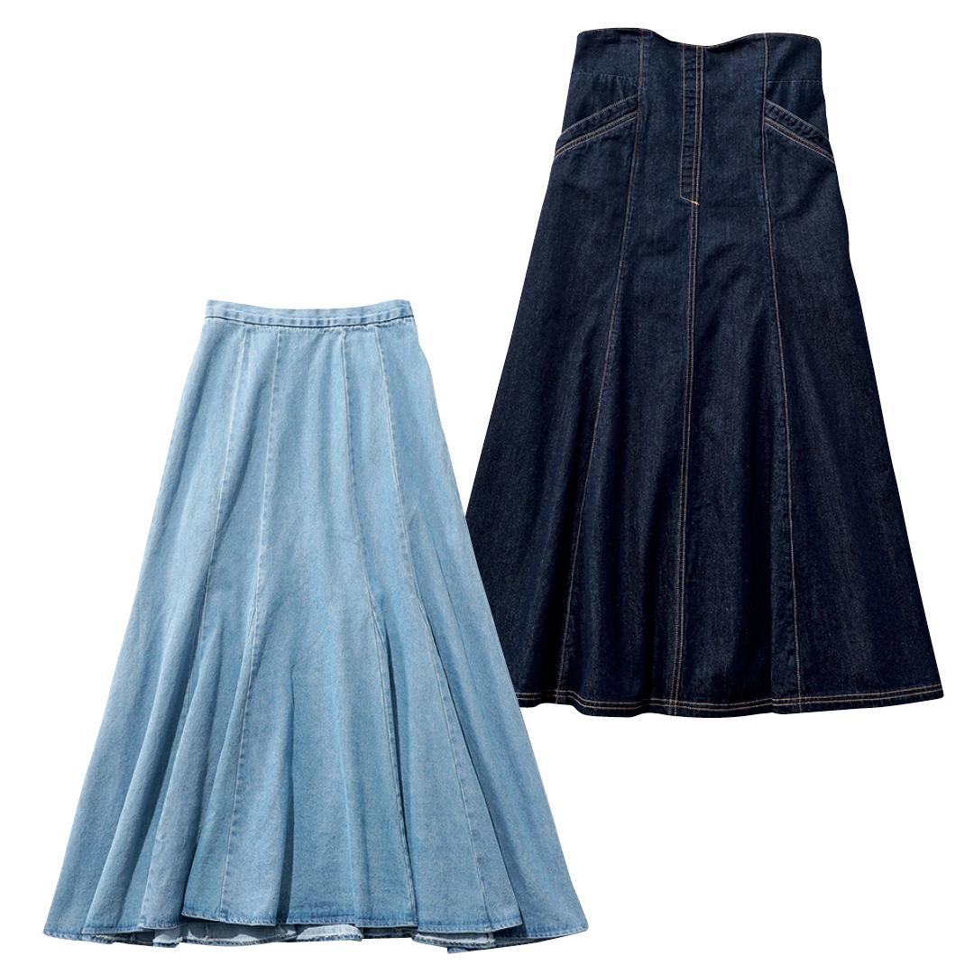 大学生が買ってよかったもの2021デニムのフレアスカート