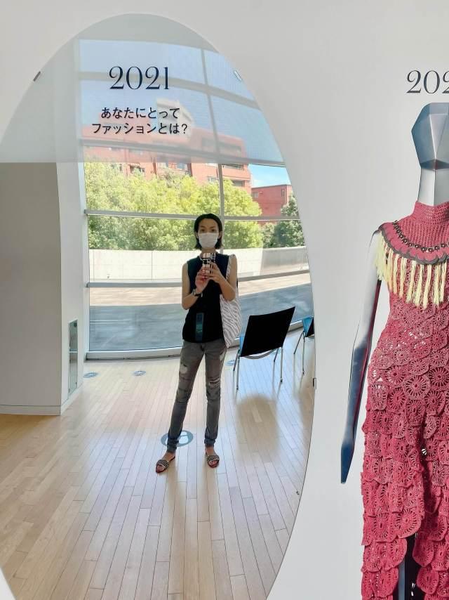 涼感ブラックコーデで、行きたかったファッション イン ジャパン展覧会へ_1_10