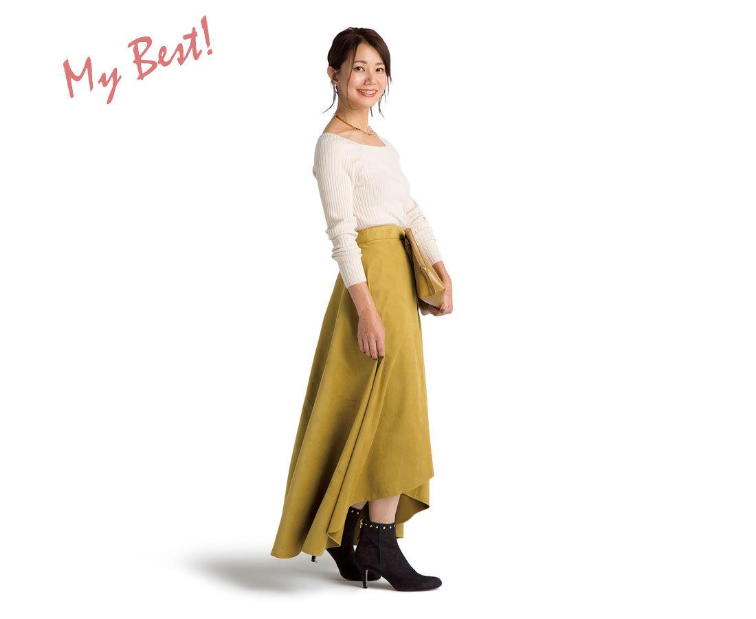 Sサイズさんのためのミディ&ロングスカート攻略法_1_1-6