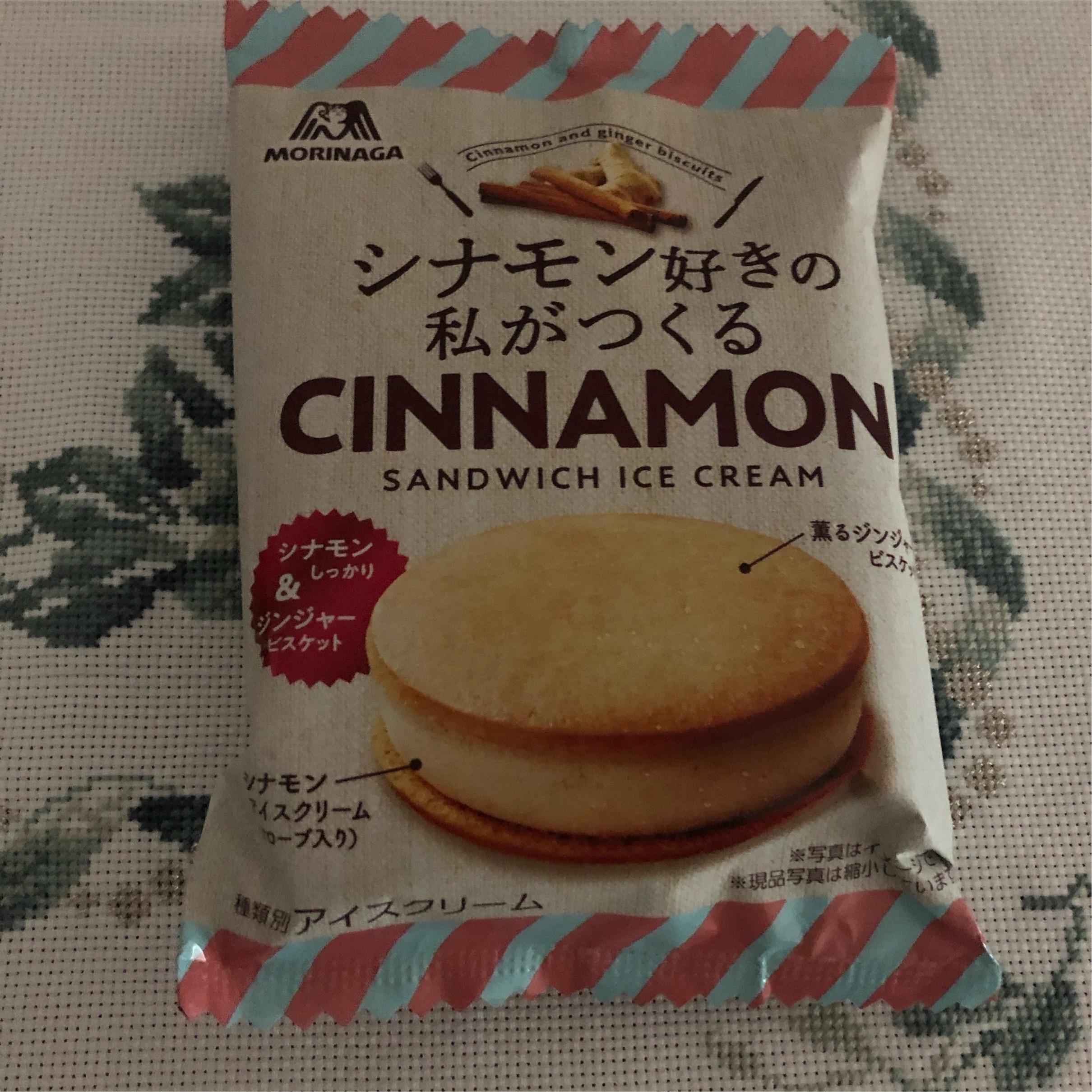 【シナモン好き必見】冬でも食べたいコンビニアイス!_1_1