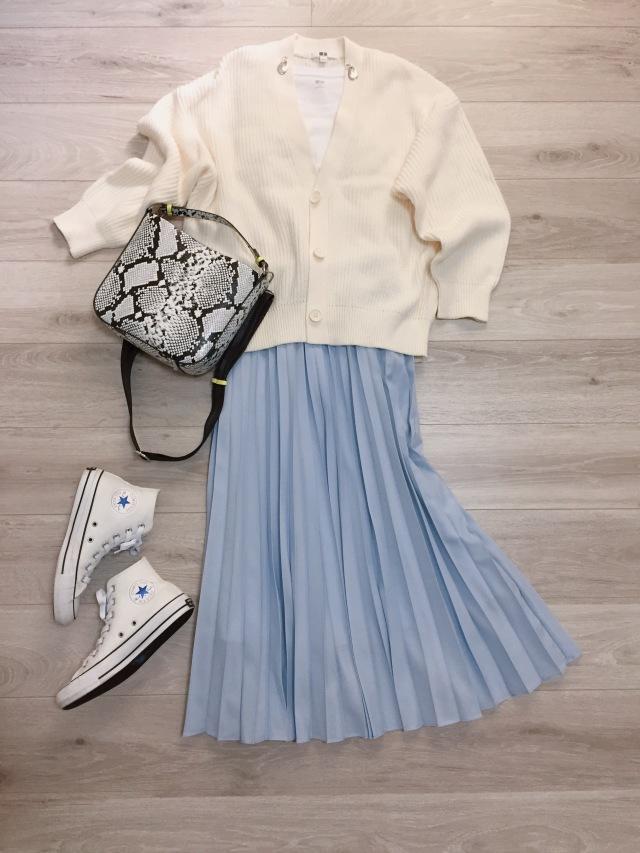 オールUNIQLOホワイトコーデ♡【momoko_fashion】_1_1-1