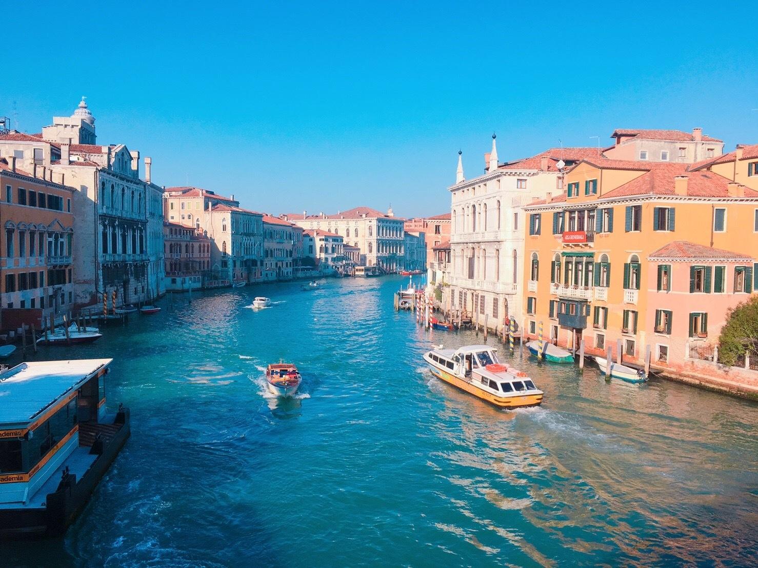 ロマンチックなイタリア旅行 --水の都【ベネチア】を観光--_1_3-1