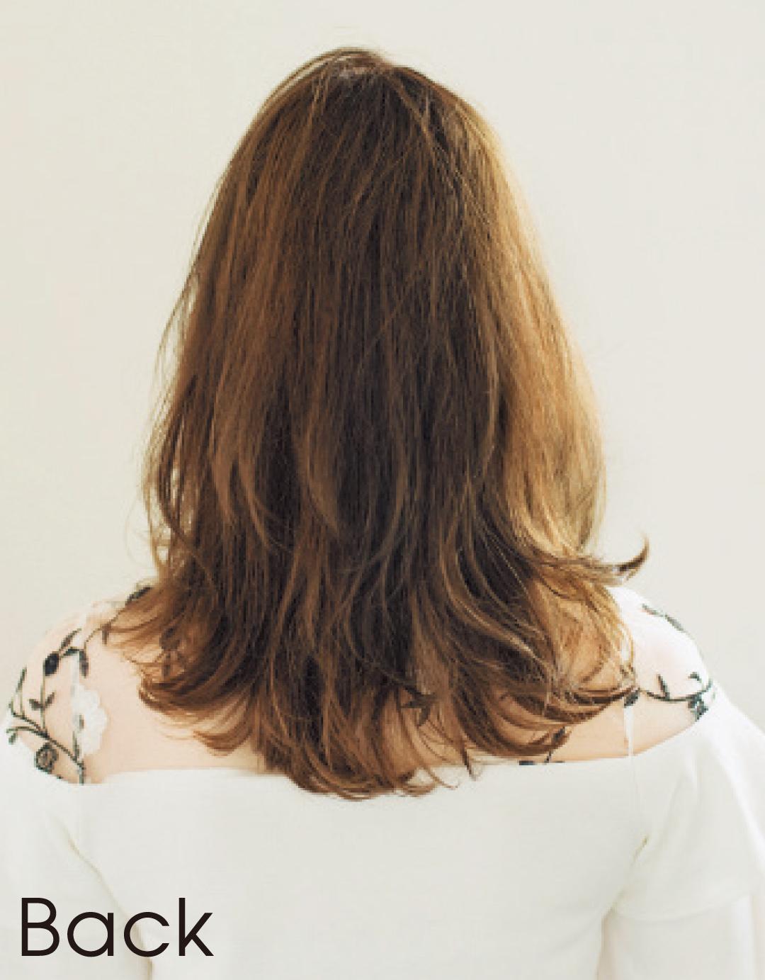 ぺたんこ髪でも、髪が多くてもOK! 石原さとみさん風ミディヘア見本帳_1_2-2