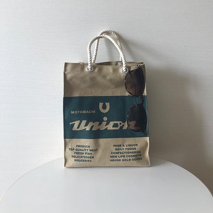 村山佳世子さんの隠れ名品①は「もとまちユニオン」の小さなエコバッグ