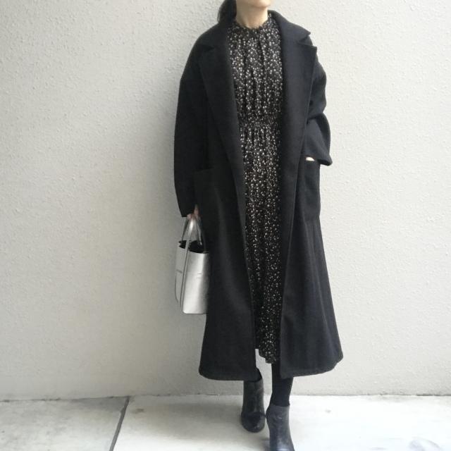 コーディネートが決まらない日の強い味方!冬に着る「黒」_1_5
