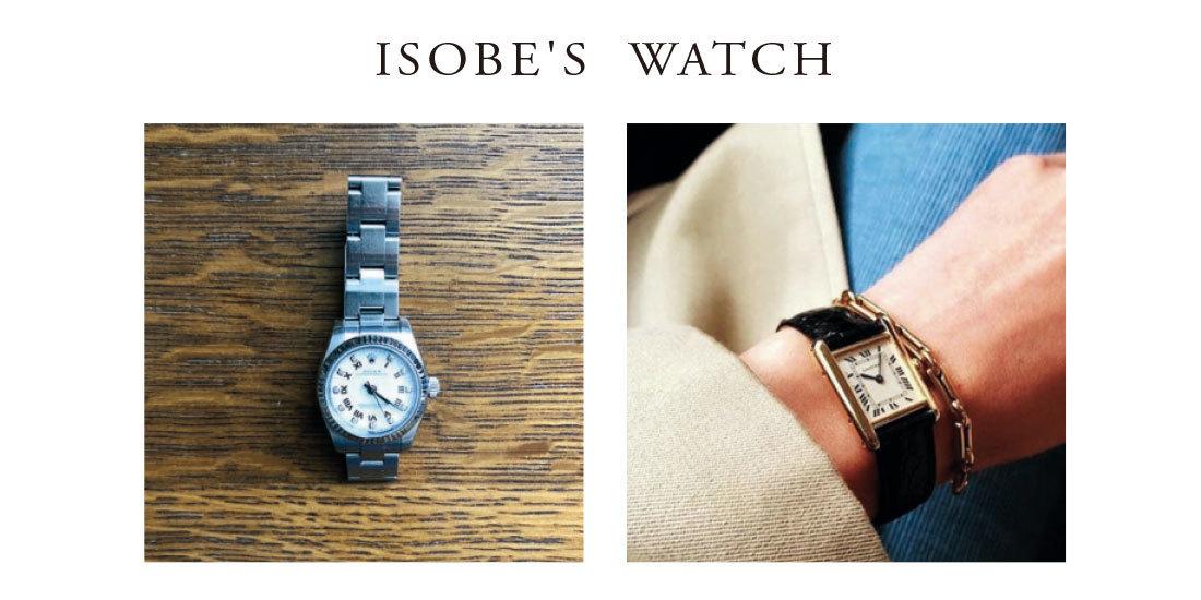 ■磯部の愛用時計を公開!