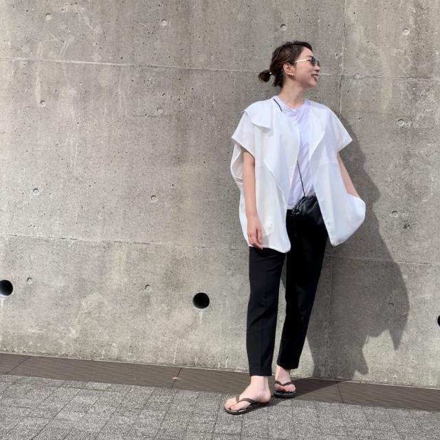 Tシャツと黒パンで、どう垢抜ける?【垢抜けシンプルファッション】#1_1_2