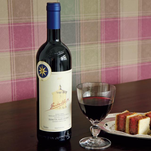 シルキーな飲み口がさりげなく優美さを物語るワイン