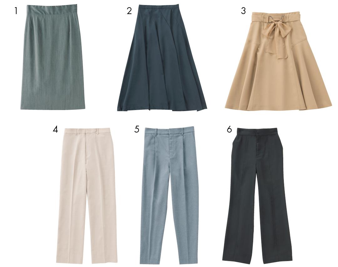 スカートとパンツ、オフィス用に買っておくべきは?【新社会人が4月までに買っておくもの⑥】_1_3