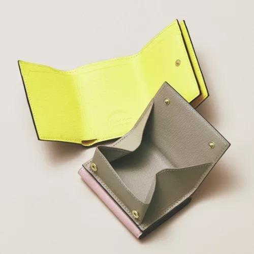 L'arcobaleno×eclat 三つ折りミニウォレット ¥26,000+税