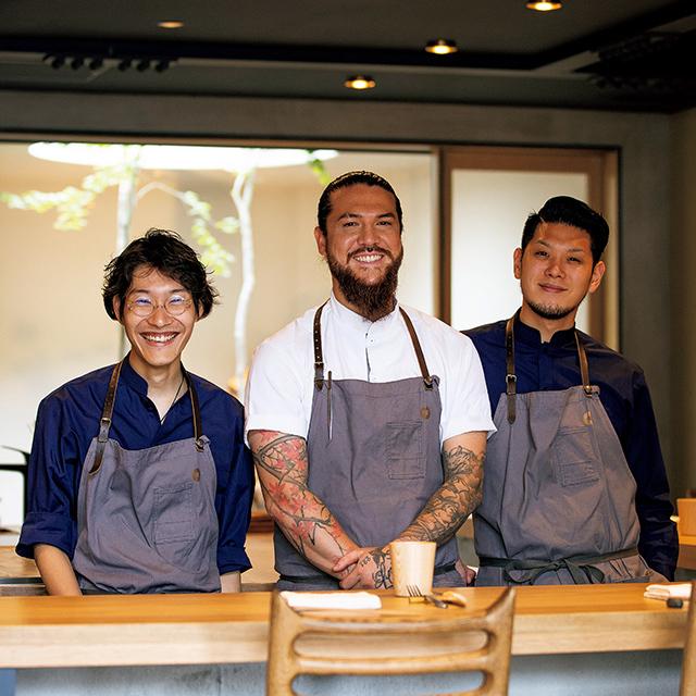 京都の東山にあるレストラン「ルーラ」の店員さん