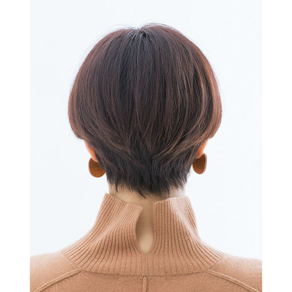 後ろから見た人気ショートヘアスタイル1位の髪型