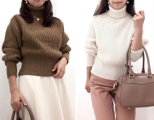 【Uniqlo U】新作!ローゲージタートルネックセーターが素敵です♪_1_3