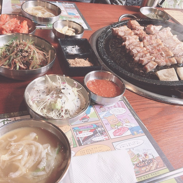 【美味しかったご飯屋さん4選!】グルメ編❥Maminaの韓国旅行✈︎Vo.6_1_1-2