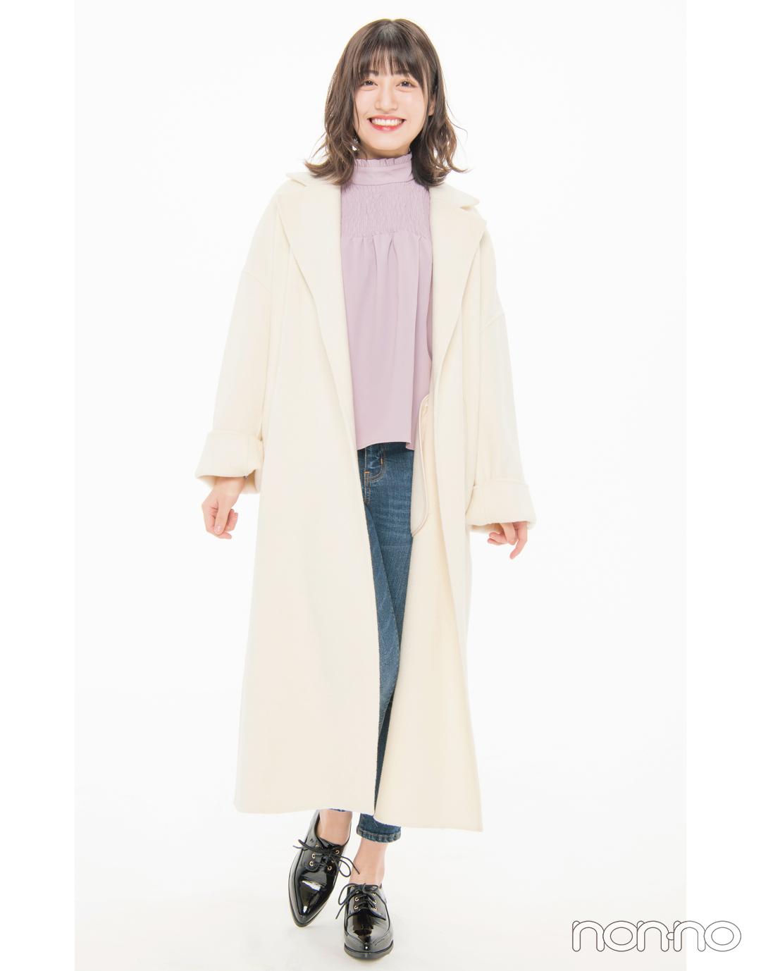 背が高い人のコートの選び方、正解は?【アウター全力試着室】_1_7