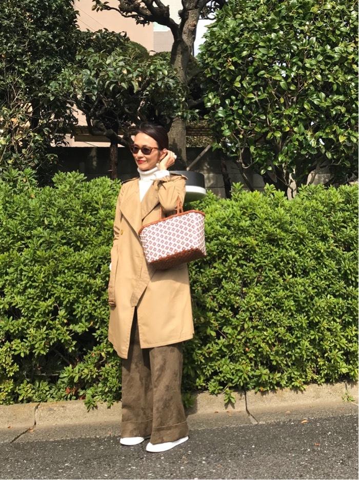 お気に入りのトレンチコートで京都へ♪_1_3
