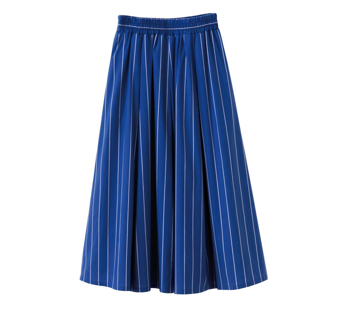 着るだけでスタイルアップ! 今から買って損なし★夏のストライプスカート_1_3-2