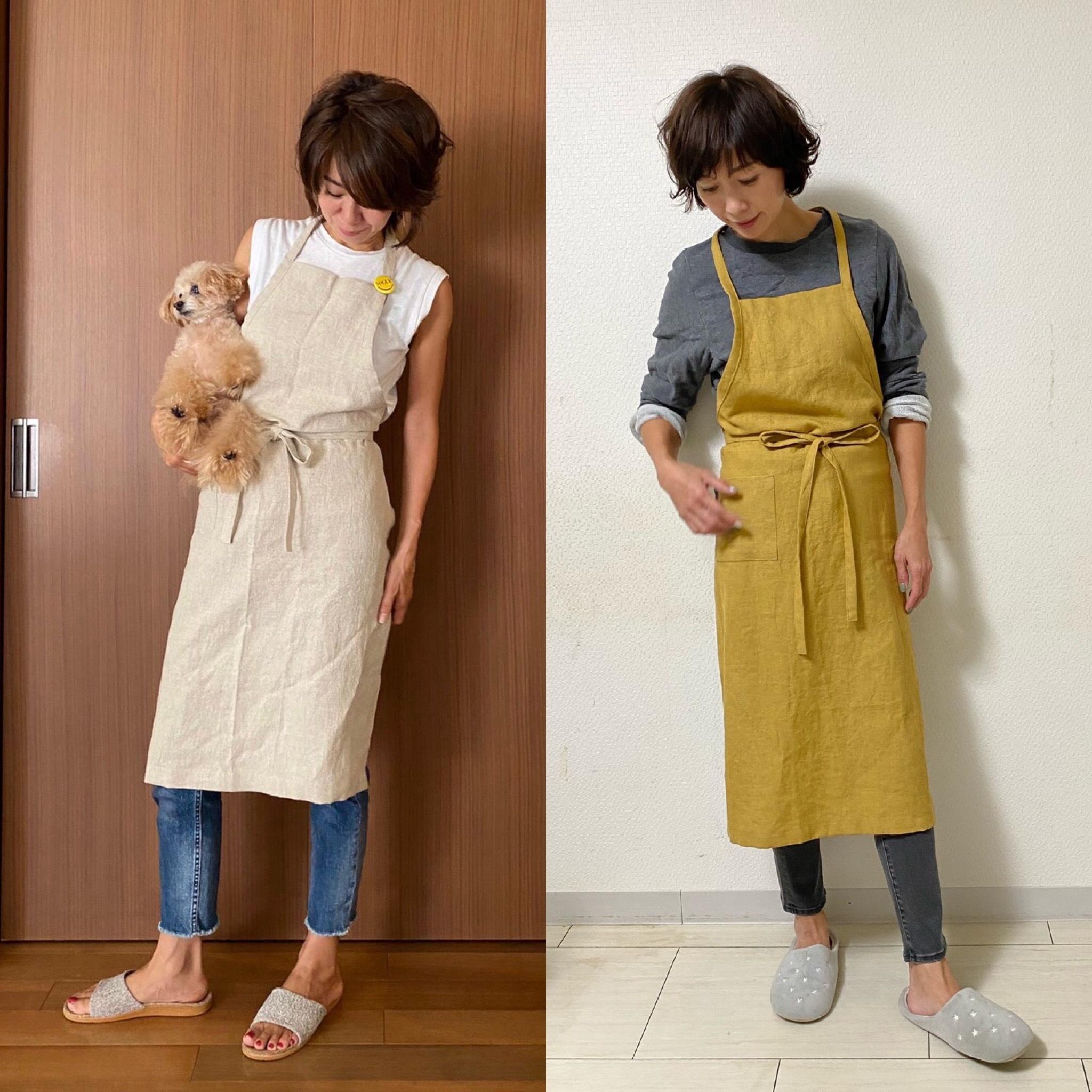 服を纏うようにエプロンを 〜秋の手仕事②_1_3-2