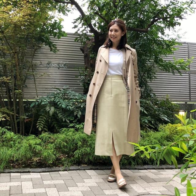 【ユニクロ+J】購入白Tの着こなしオフィスバージョン《ゆっこのファッション》_1_2-1