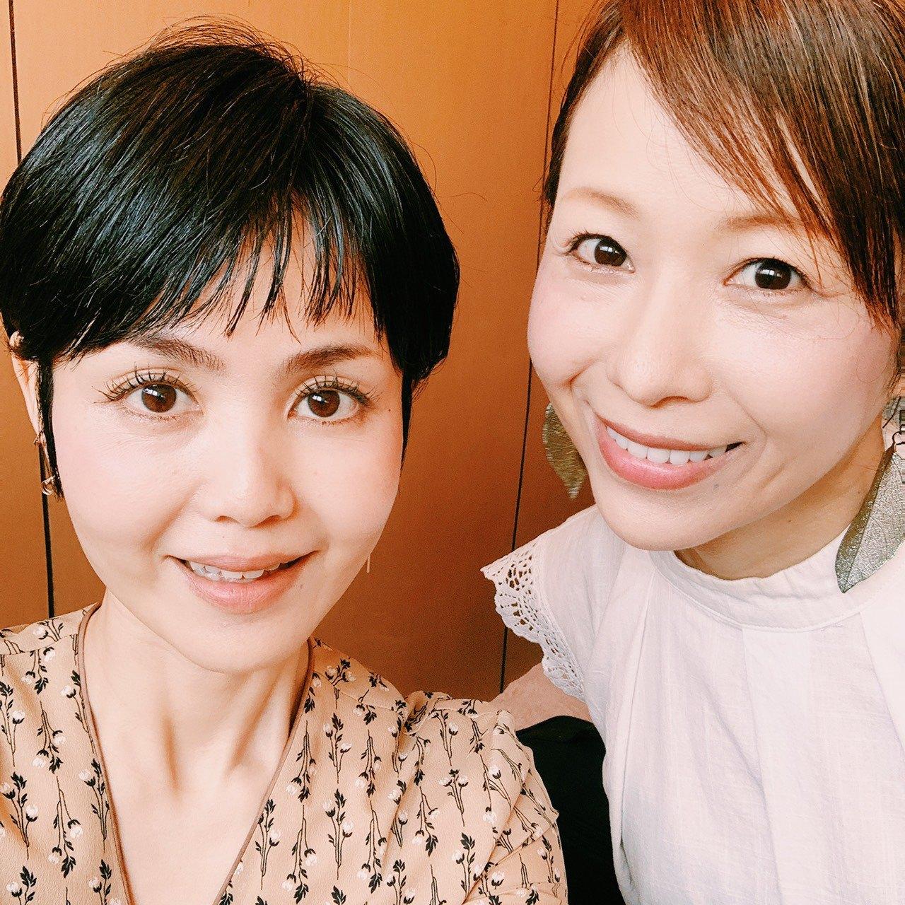 先生と優しい顔になった久美子。