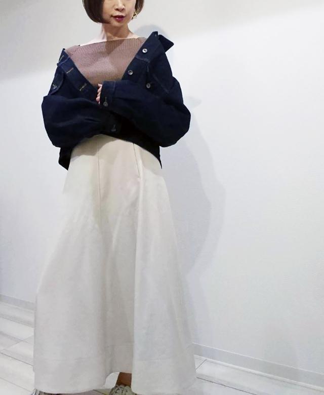 【UNIQLO U】デニムジャケットで春の大人カジュアルコーデ♡_1_4