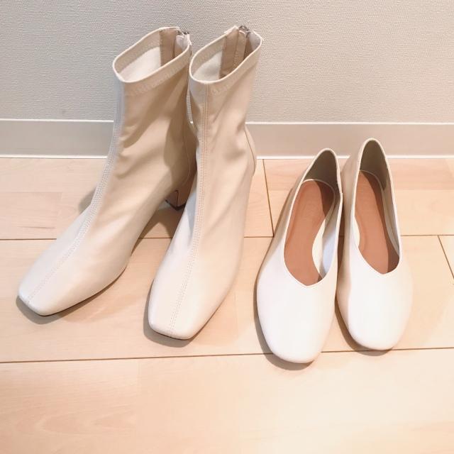 白い靴ってどう合わせてる?_1_1